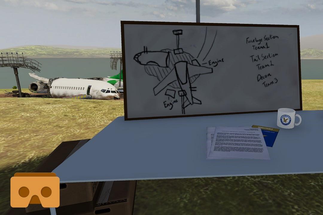 ERAU Crash Lab VR - Screenshot