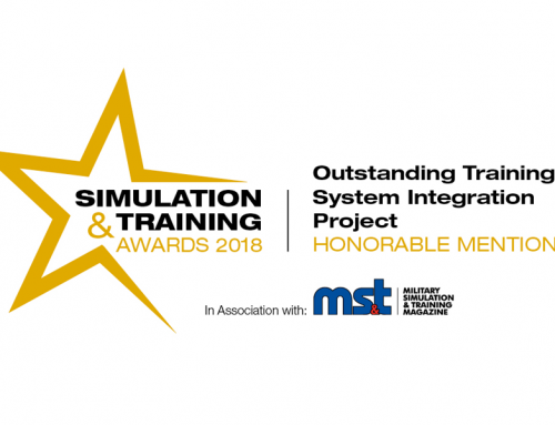 Pinnacle Recognized for Outstanding Training System Integration Project