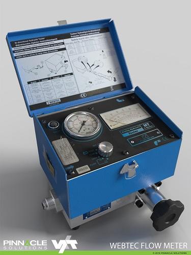 Pinnacle VXT Flow Meter 3D Model Render