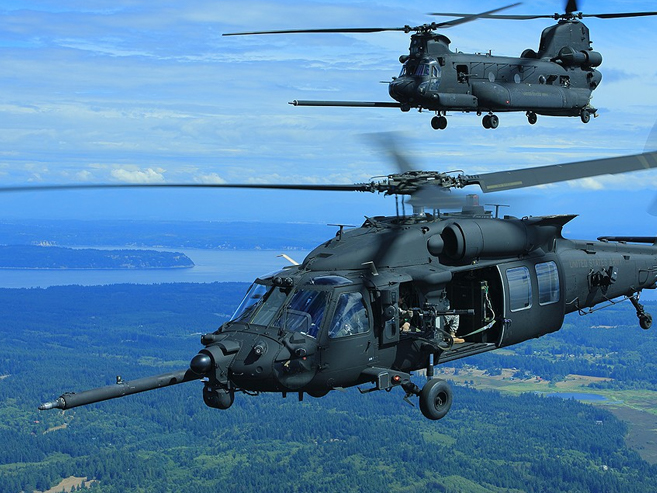 MH-60M   MH-47G