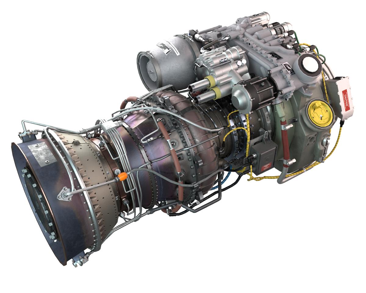 H-60 VMT Engine Seq Shot 1