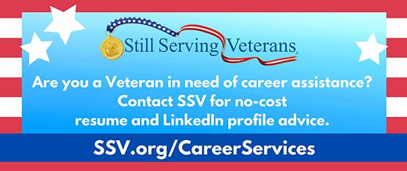 Still Serving Veterans - Career Services