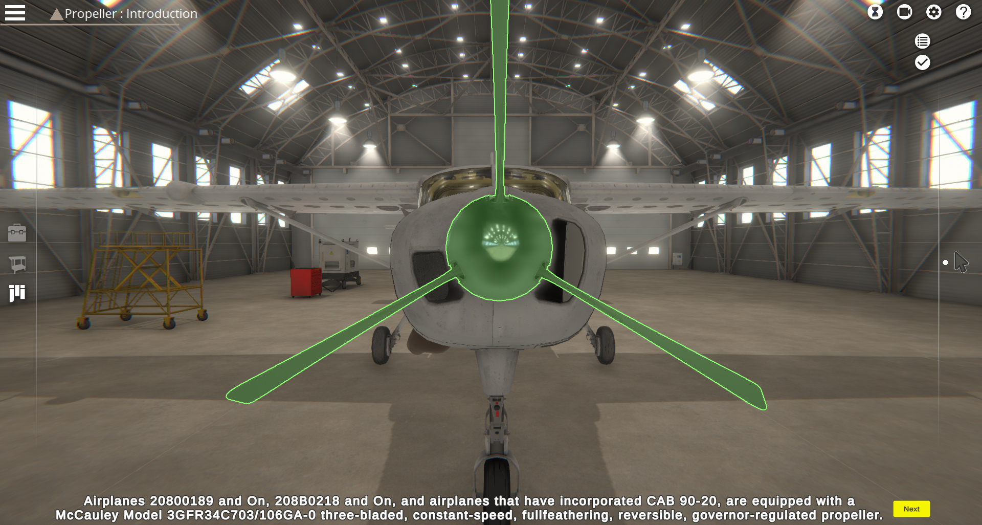 C-208B VMT Screen 3